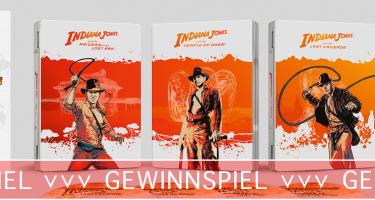 Indiana Jones - 4K - Gewinnspiel